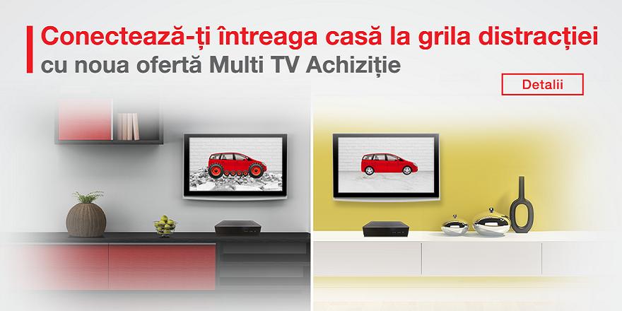 Abonament Prepay Focus SAT - 2 Receivere HD - cu Cartela (include 2 luni Familia, 1 luna Mozaic Plus, Cinema și Filmbox)