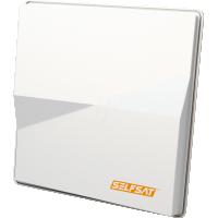 Antena Satelit Selfsat H50M2 pentru receptia a 2 sateliti 6° pentru 2 utilizatori