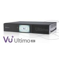 Receiver VU+ Ultimo 4K UltraHD Tuner Satelit Dual DVB-S2X FBC PVR Linux Enigma2