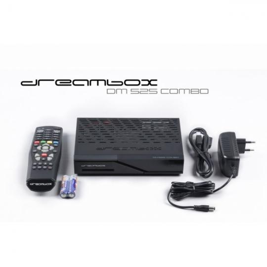 Receiver Dreambox DM525 Combo Full HD Tuner Triplu Satelit DVB-S2 Cablu DVB-C Terestru DVB-T2