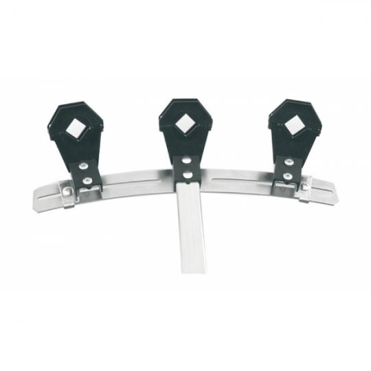 Emme Esse 3 x LNB suport reglabil 6° - pentru antene Emme Esse Ø 80-85-100-115-125 cm