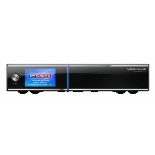 Receiver GigaBlue UHD Quad 4K Tuner Satelit Dual DVB-S2 FBC PVR SAT- IP Linux Enigma2