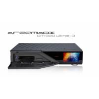 Receiver Dreambox DM920 UltraHD 4K Tuner Cablu Terestru Dual DVB-C/T2 PVR Linux Dreambox OS 2.2