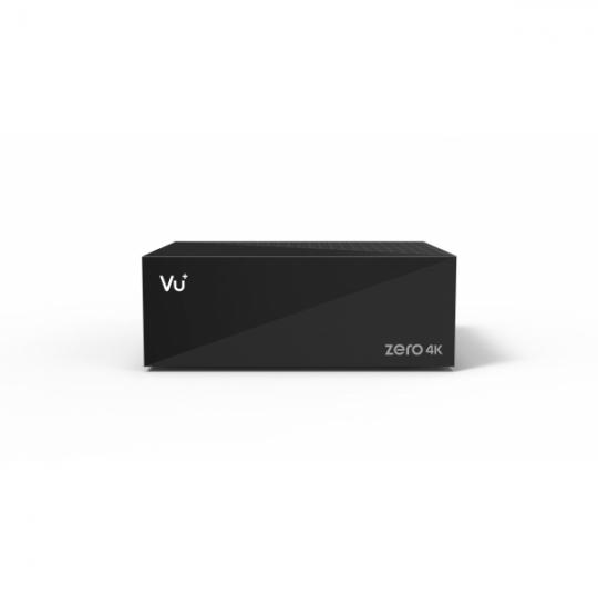 Receiver VU+ ZERO 4K UltraHD Tuner Satelit Single DVB-S2X MULTISTREAM Linux Enigma2 NEGRU