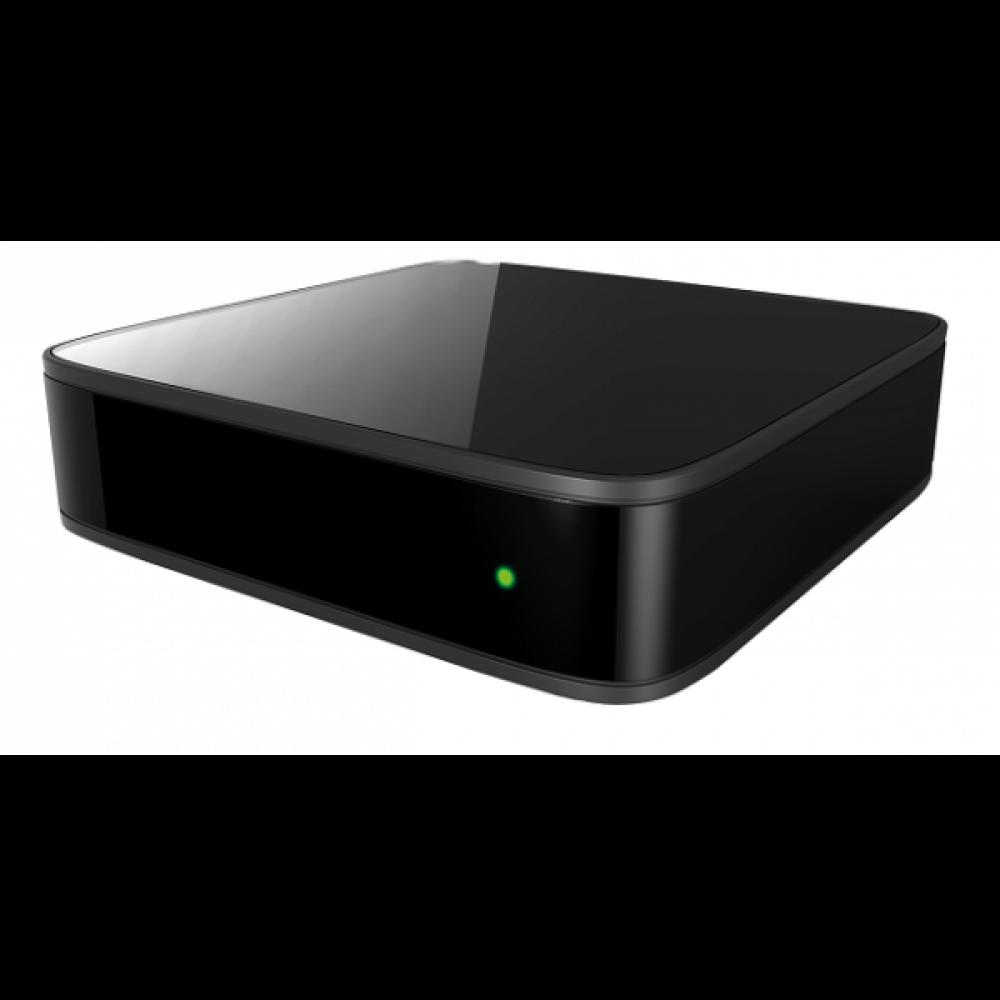 Receiver IPTV MAG 410 UHD 4K Quadcore 4x 1 5 Ghz Wi-Fi Bluetooth 2 GB RAM 8  Flash Android 6