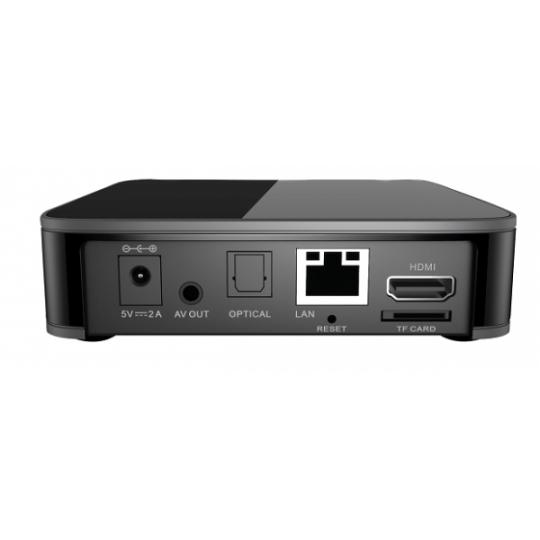 Receiver IPTV MAG 410 UHD 4K Quadcore 4x 1.5 Ghz Wi-Fi Bluetooth 2 GB RAM 8 Flash Android 6