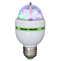 BEC E27 CU LED-URI RGB 1WX3 CAP ROTATIV