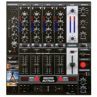 PROFESSIONAL DJ MIXER WITH EFFECTS AND BPM