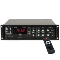 AMPLIFICATOR LINIE 100V/8OHM 50/80W USB BLUETOOTH