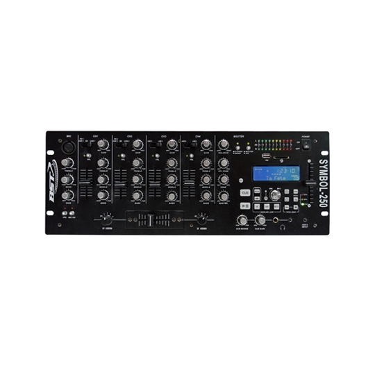 MIXER 5 CANALE USB/SD BST