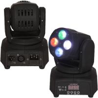 MINI MOVING HEAD RGBW LED 4X10W DMX