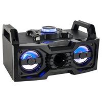BOXA PORTABILA ILUMINATA LED 2X25W CU BLUETOOTH/USB