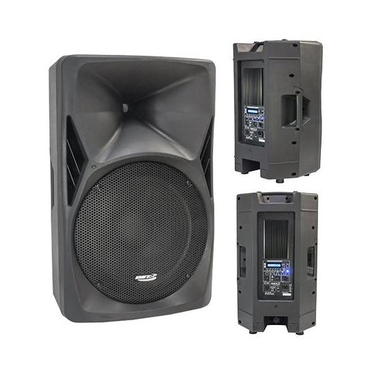 BOXA ACTIVA 15 inch/38CM 8OHM 300W RMS CU BT/USB/FM/SD/AUX