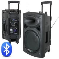 BOXA PORTABILA 15 inch/38CM 800W 12/230V USB/MP3
