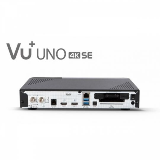 Receiver VU+ Uno 4K SE UltraHD Tuner Cablu DVB-C FBC PVR Linux Enigma2