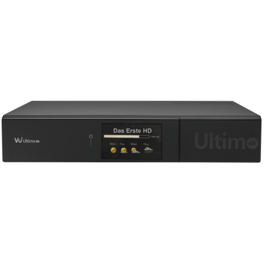 Receiver VU+ Ultimo 4K UltraHD Tuner Cablu DVB-C FBC PVR Linux Enigma2