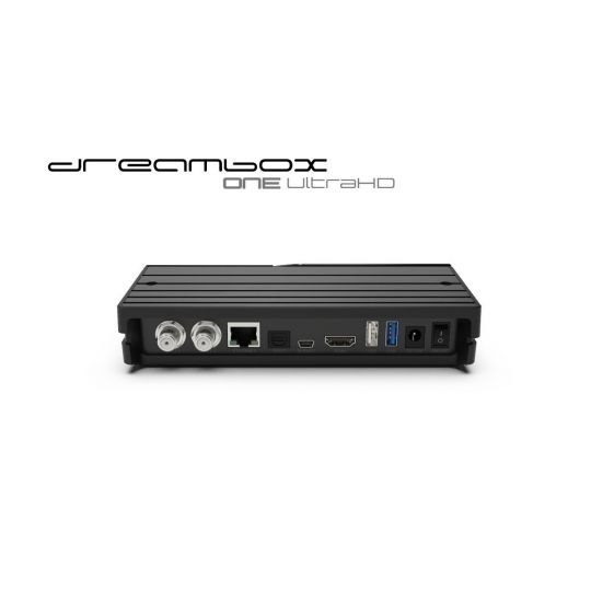 Receiver Dreambox One Ultra HD 2x DVB-S2X MIS Tuner 4K 2160p E2 Linux, Android, Dual Wifi H.265 HEVC