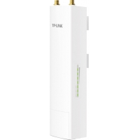 "ACCESS POINT TP-LINK wireless exterior 300Mbps port 10/100Mbps. 2 x RP-SMA , pasiv PoE, 5GHz, ""WBS510"""