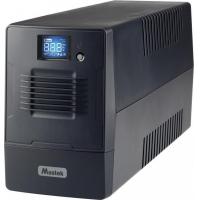 UPS MUSTEK PowerMust 800 Line Int. cu management, LCD, 800VA/ 480W, AVR