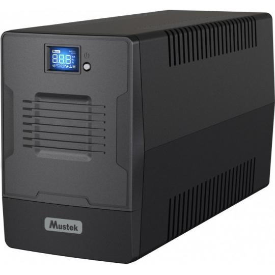 UPS MUSTEK PowerMust 2000 Line Int. cu management, LCD, 2000VA/ 1200W