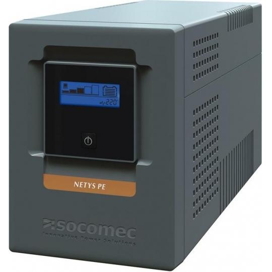 UPS SOCOMEC Netys PE-LCD 1500VA Line Int. cu management, tower, 1500VA/ 900W, AVR