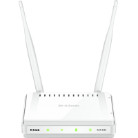"ACCESS POINT D-LINK wireless 300Mbps, port 10/100Mbps, 2 antene externe, ""DAP-2020"""
