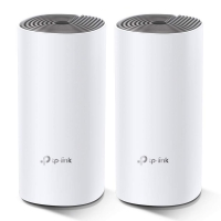 MESH TP-LINK Sistem wireless Complete Coverage - Router AC1200 Whole-Home , TP-Link Deco E4 -2buc