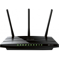 "ROUTER TP-LINK wireless 1200Mbps, 4 porturi Gigabit, 3 antene externe, Dual Band AC1200, ""Archer C1200"""