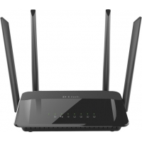 "ROUTER D-LINK wireless 1200Mbps, 4 porturi Gigabit, 4 antene externe, Dual Band AC1200, 1xUSB2.0, ""DIR-842"""