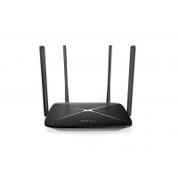 "ROUTER MERCUSYS wireless 1200Mbps, 3 porturi 10/100/1000Mbps, Dual Band AC1200, 4 x antena exterior, ""AC12G"""