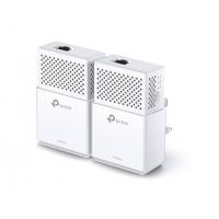 KIT ADAPTOR POWERLINE TP-LINK tehnologie AV2, AV1000, pana la 1000Mbps, 1 port Gigabit, 2 buc